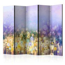 Paraván - Painted Meadow II [Room Dividers] 5 részes 225x172 cm