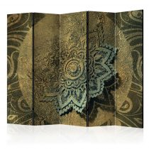 Paraván - Golden Treasure II [Room Dividers] 5 részes 225x172 cm