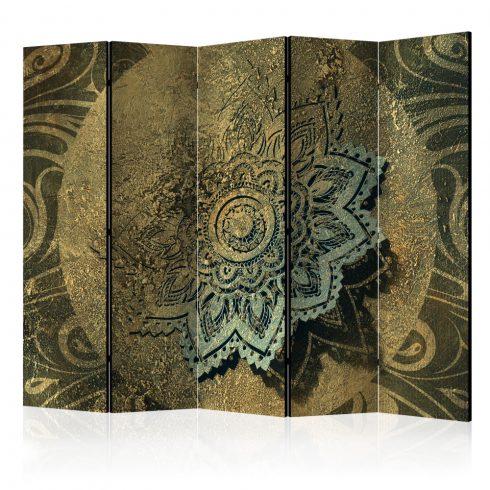Paraván - Golden Treasure II [Room Dividers] 5 részes 225x172 cm  -  ajandekpont.hu