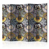 Paraván - Painted Exoticism II [Room Dividers] 5 részes 225x172 cm