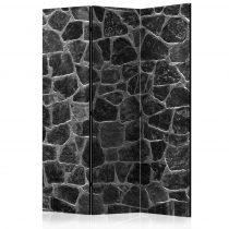 Paraván - Black Stones [Room Dividers] 3 részes  135x172 cm
