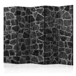 Paraván - Black Stones II [Room Dividers] 5 részes 225x172 cm