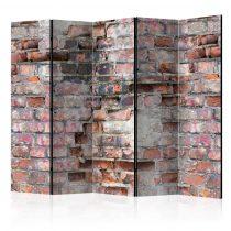Paraván - Old Wall II [Room Dividers] 5 részes 225x172 cm