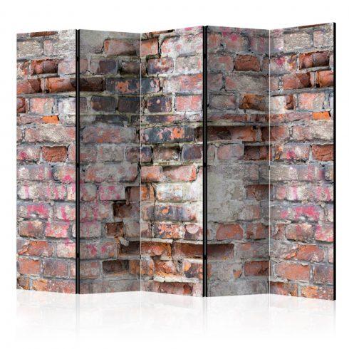Paraván - Old Wall II [Room Dividers] 5 részes 225x172 cm  -  ajandekpont.hu