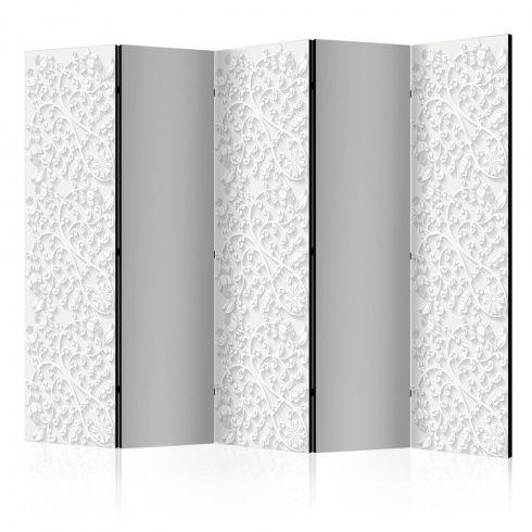 Paraván - Room divider – Floral pattern II 5 részes 225x172 cm  -  ajandekpont.hu