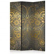 Paraván - Golden Butterfly [Room Dividers] 3 részes  135x172 cm