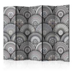 Paraván - Room divider: Mandalas II 5 részes 225x172 cm