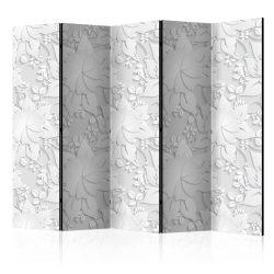 Paraván - Room divider – Flowers 5 részes 225x172 cm