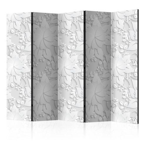 Paraván - Room divider – Flowers 5 részes 225x172 cm  -  ajandekpont.hu