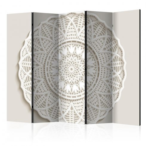 Paraván - Room divider - Mandala 3D II 5 részes 225x172 cm  -  ajandekpont.hu