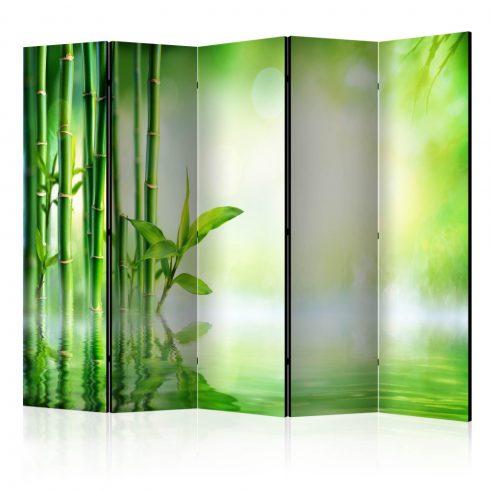 Paraván - Green Bamboo II [Room Dividers] 5 részes 225x172 cm  -  ajandekpont.hu