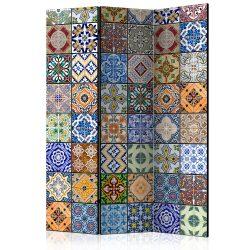 Paraván - Colorful Mosaic [Room Dividers] 3 részes  135x172 cm
