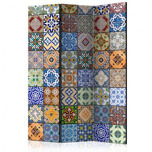 Paraván - Colorful Mosaic [Room Dividers] 3 részes  135x172 cm  -  ajandekpont.hu