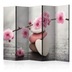 Paraván - Zen Flowers II [Room Dividers] 5 részes 225x172 cm