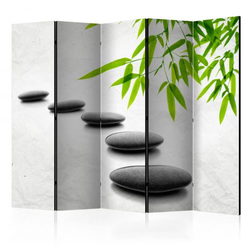 Paraván - Zen Stones II [Room Dividers] 5 részes 225x172 cm  -  ajandekpont.hu
