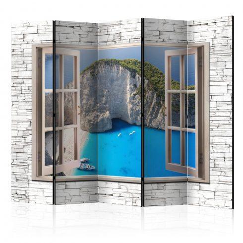 Paraván - Azure Paradise II [Room Dividers] 5 részes 225x172 cm  -  ajandekpont.hu