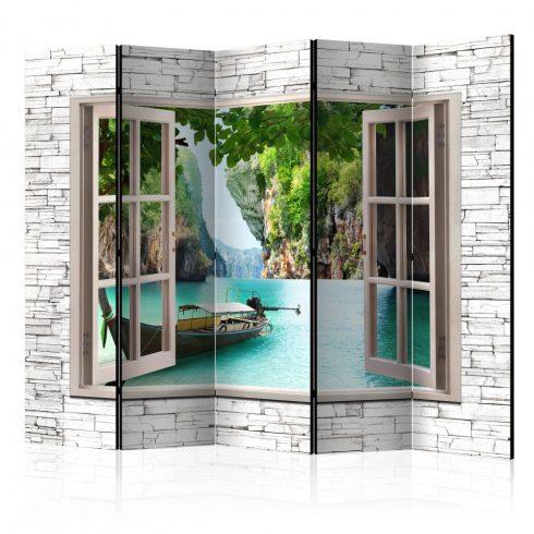 Paraván - Thai Paradise II [Room Dividers] 5 részes 225x172 cm  -  ajandekpont.hu