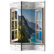 Paraván - Seaside Hills [Room Dividers] 3 részes  135x172 cm