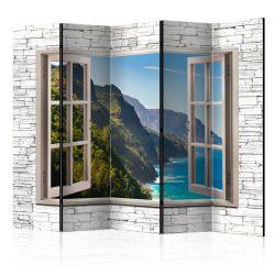 Paraván - Seaside Hills II [Room Dividers] 5 részes 225x172 cm