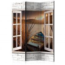 Paraván - Autumnal Lake [Room Dividers] 3 részes  135x172 cm