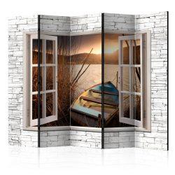 Paraván - Autumnal Lake II [Room Dividers] 5 részes 225x172 cm