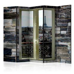 Paraván - Parisian View II [Room Dividers] 5 részes 225x172 cm