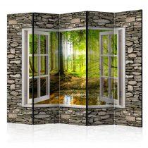 Paraván - Morning Forest II [Room Dividers] 5 részes 225x172 cm
