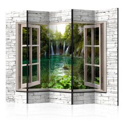 Paraván - Green Treasure II [Room Dividers] 5 részes 225x172 cm