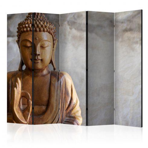 Paraván - Buddha II [Room Dividers] 5 részes 225x172 cm  -  ajandekpont.hu