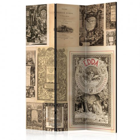 Paraván - Vintage Books [Room Dividers]
