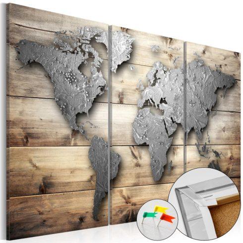 Világtérkép parafán - Doors to the World [Cork Map]