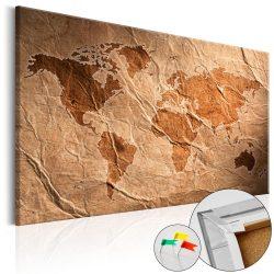 Kép parafán - Paper Map [Cork Map]
