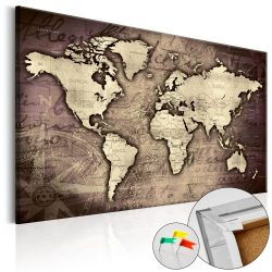 Kép parafán - Precious World [Cork Map]