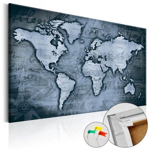Világtérkép parafán - Sapphire World [Cork Map]