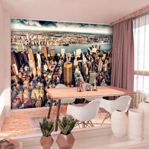 Fotótapéta  -  Bird's Eye View of New York - ajandekpont.hu