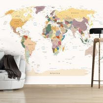 Fotótapéta - World Map  7 féle méretben