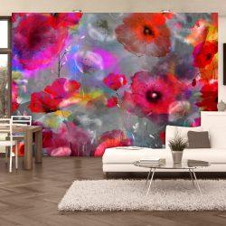 Fotótapéta - Painted Poppies