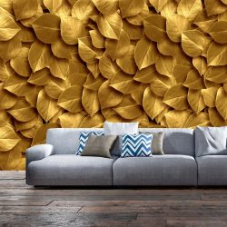 Fotótapéta - Golden Leaves
