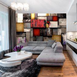 Fotótapéta - Colorful Home  7 féle méretben