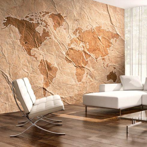 Fotótapéta - Sandy Map  7 féle méretben   -  ajandekpont.hu