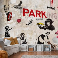 Fotótapéta - [Banksy] Graffiti Collage  7 féle méretben