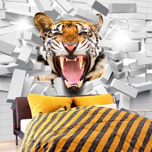 Fotótapéta - Tiger Jump  -  ajandekpont.hu