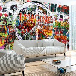Fotótapéta - Hippie Graffiti  7 féle méretben