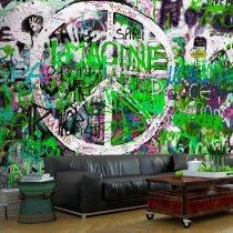 Fotótapéta  -  Green Graffiti - ajandekpont.hu