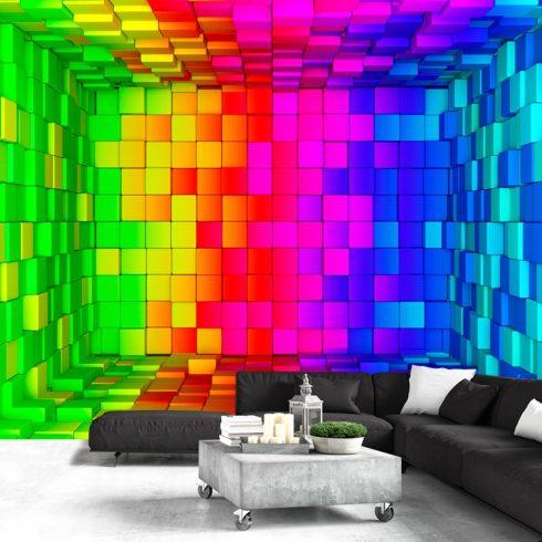 Fotótapéta  -  Rainbow Cube - ajandekpont.hu