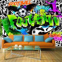 Fotótapéta - Football Graffiti  7 féle méretben