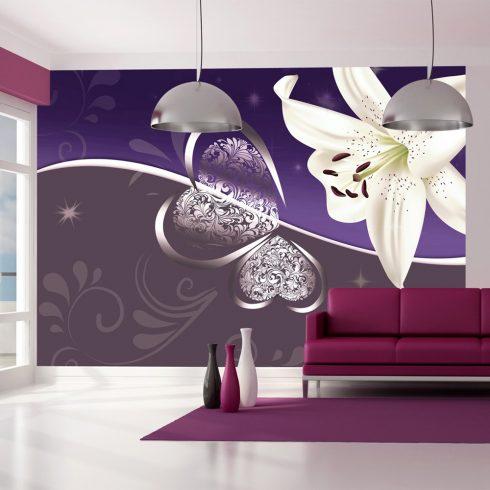 Fotótapéta - Lily in shades of violet  -  ajandekpont.hu