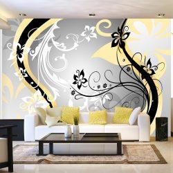 Fotótapéta - Art-flowers (yellow) l
