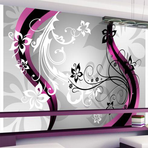 Fotótapéta - Art-flowers (pink) l  -  ajandekpont.hu