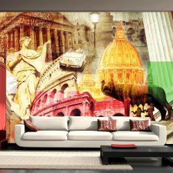 Fotótapéta - Rome - collage l